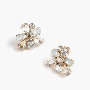 J. Crew crystal cluster earrings